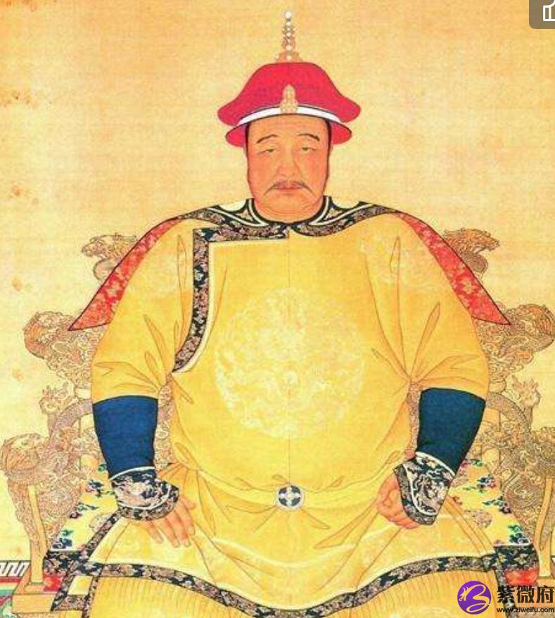 【皇太极,文德武功立满清,日月反背百战皇】